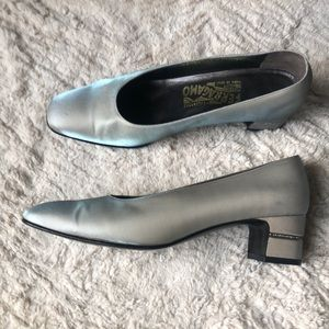 Ferragamo evening shoes